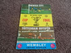 1973 Final - Norwich City v Tottenham Hotspur